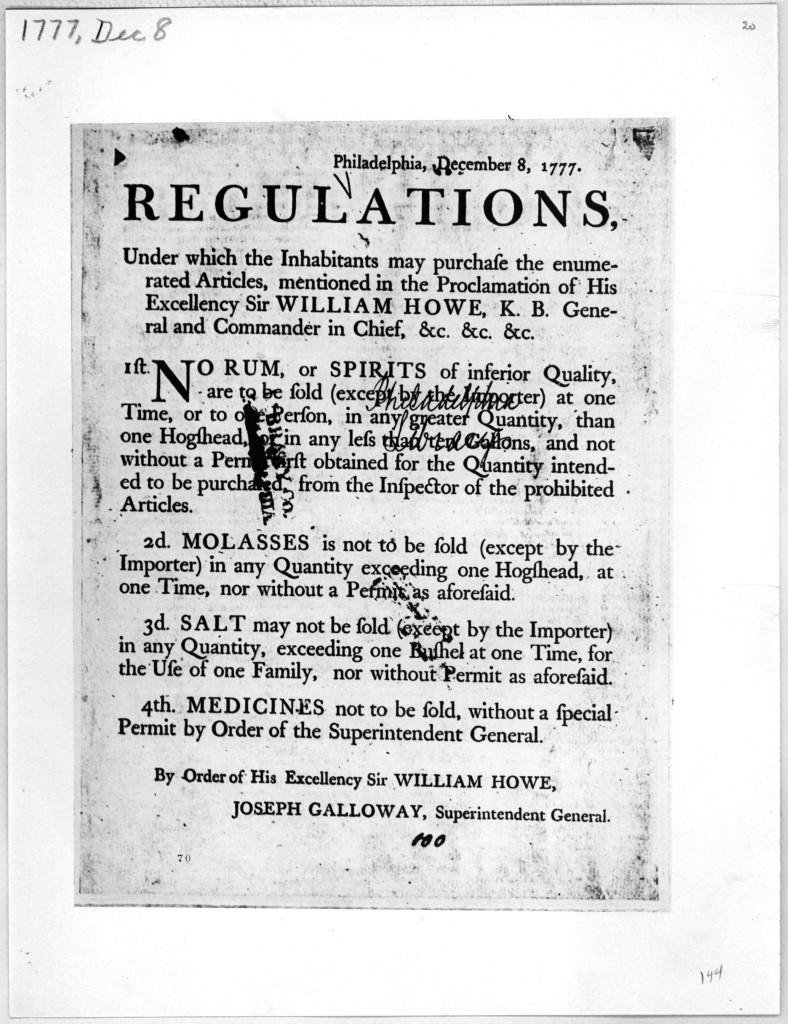 HoweRegulation